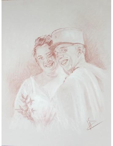 Commande sanguine couple/25X32