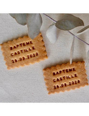 BISCUITS PERSONNALISES BAPTEME PROVIDENCIA