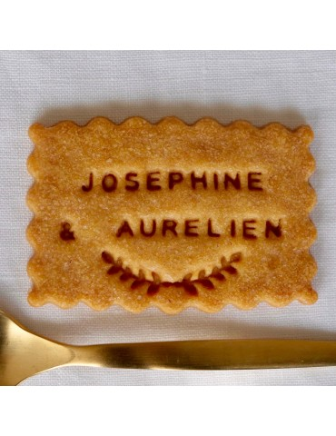 BISCUITS PERSONNALISES MARIAGE PROVIDENCIA