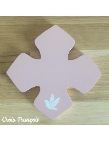 Croix peinte pour chambre...