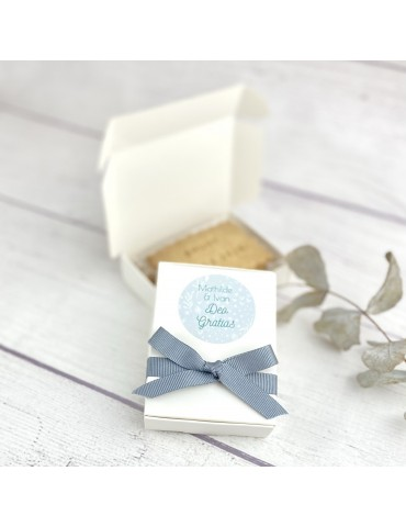 Duo Boite & Biscuits Personnalisés Mariage