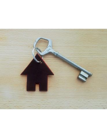 Porte clef en cuir