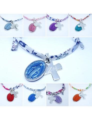 Bracelet personnalisé croix...
