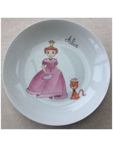 Assiette princesse