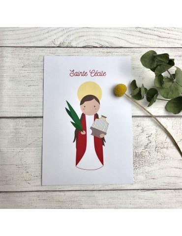 Affiche Saint Patron