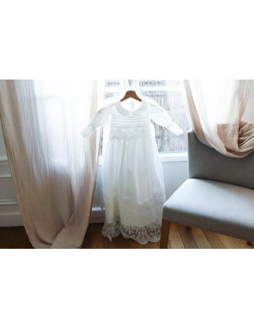 """Robe de baptême """"Louise"""""""