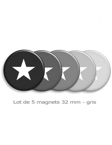 Magnets déco étoiles
